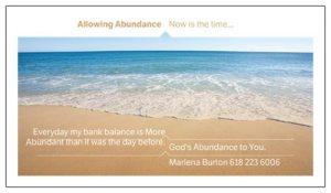 allowingabundance