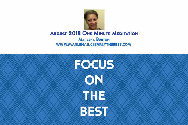AUGUST2018ONEMINUTEMEDITATION